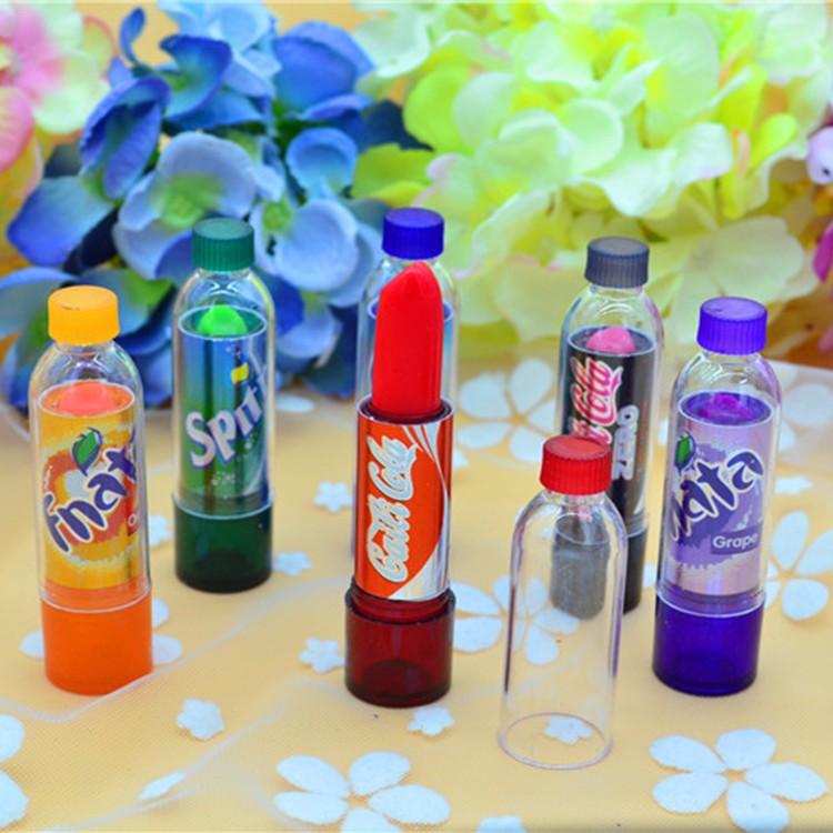 Good Brand Beauty makeup lovely Change Color Lip Balm moisturizers lasting waterproof makeup Lipstick Coke bottle color