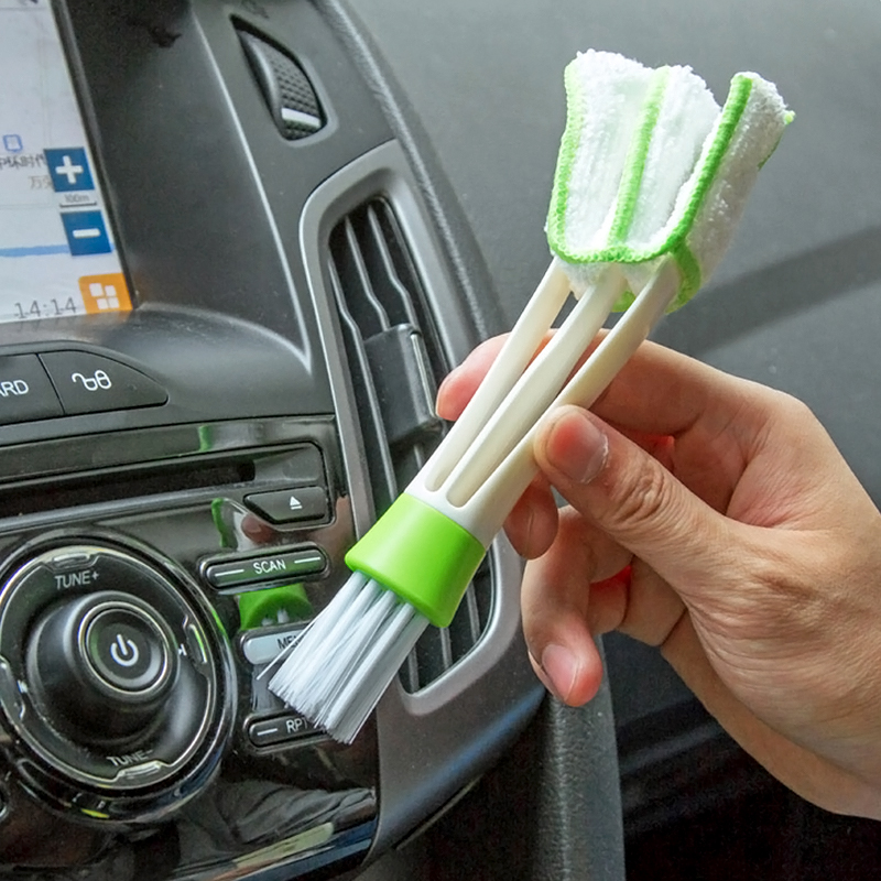 New Arrival Removable computer Cleaning Brush Clip Household Tool air-condition Window Leaves Blinds Cleaner Duster ZH853(China (Mainland))