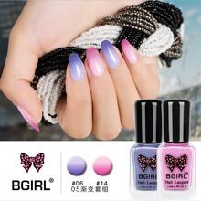 20 colors Nail polish temperature gradient color nail polish  Popular summercan peel can tear nail glue  GZJ02126