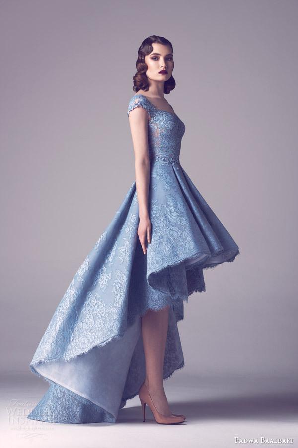 light blue party dress