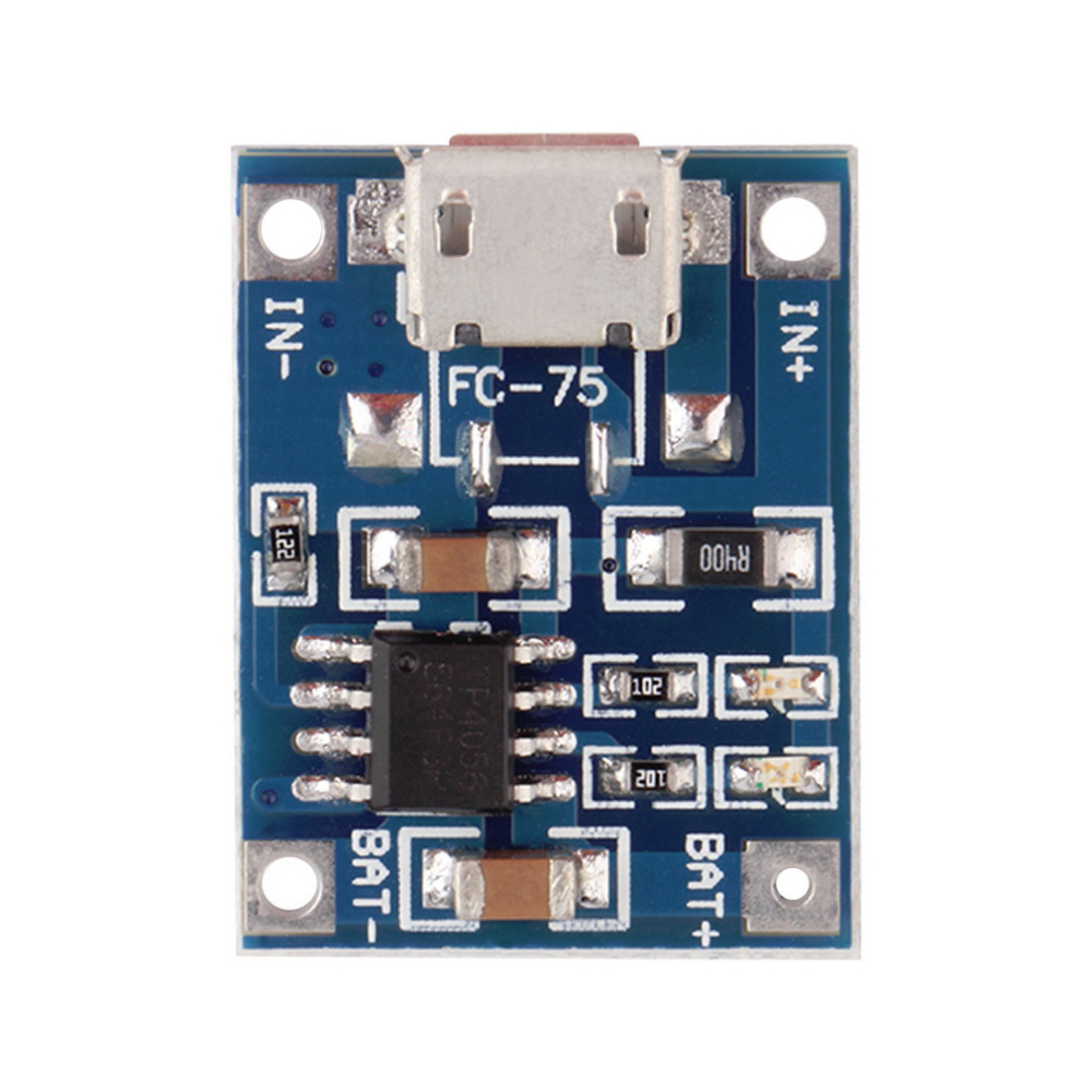 1pcs 5V Mini MICRO USB 1A TP4056 Lithium Battery Charging Charger Module New Hot Worldwide
