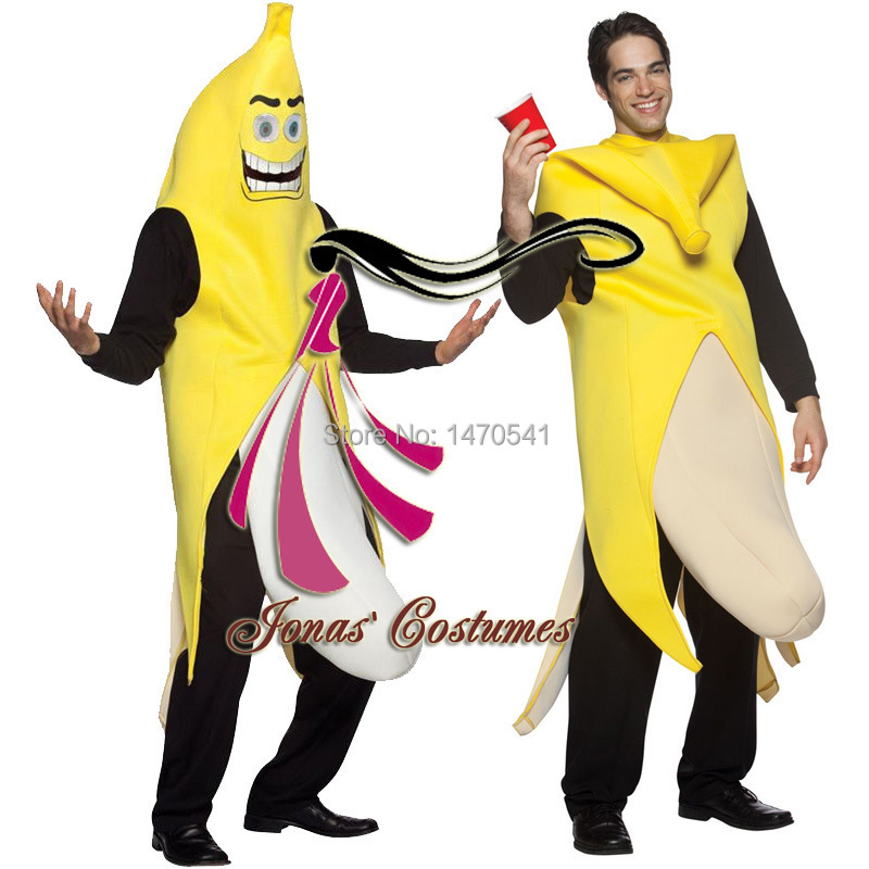 Aliexpress.com : Buy 2015 Adult Fancy dress Funny banana costume ...