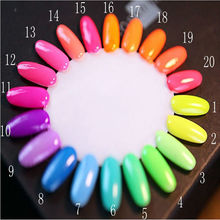 1pcs free shipping 20 color 7ml Fluorescent Neon Luminous Nail Polish for Glow in Dark Nail