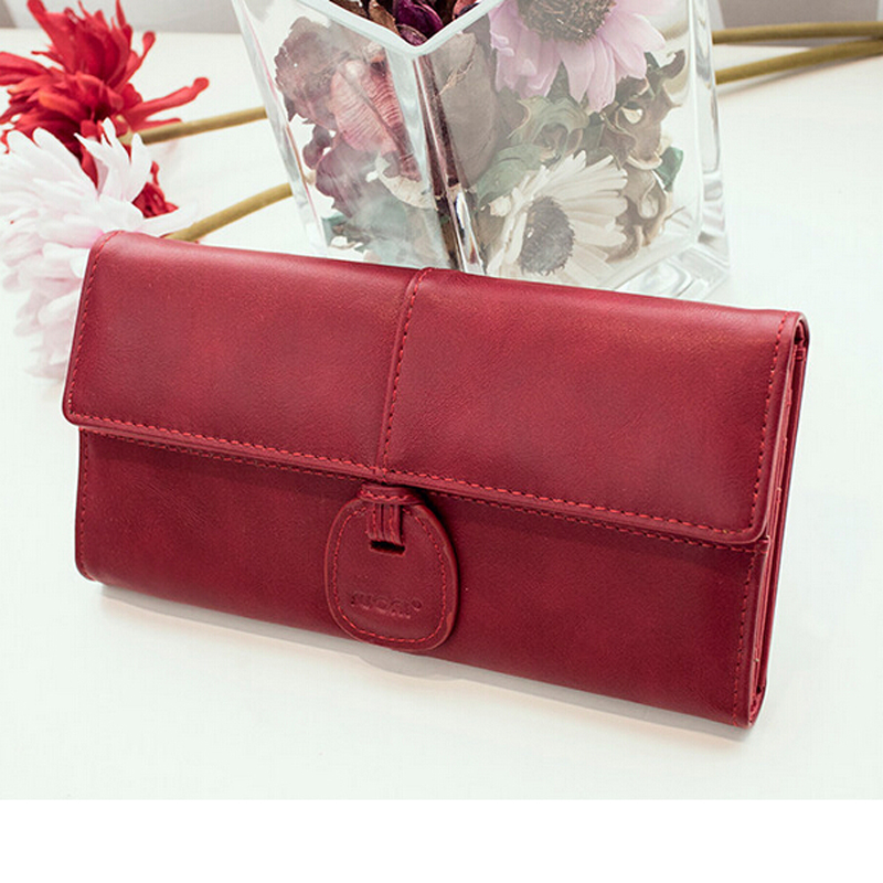 2016 Fashion Women Wallet Female Long Wallets and Purses Lady Clutch Coin Purse Holder Thin Wallet for Women pochette portfolio(China (Mainland))