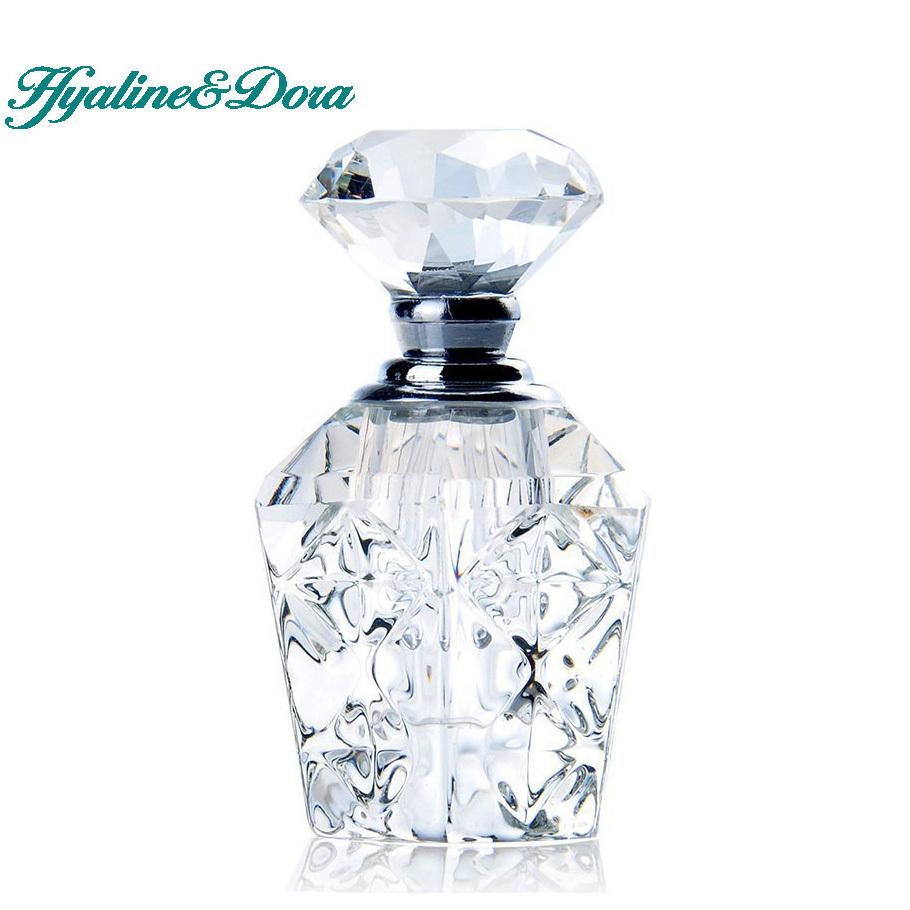 Vintage ship glass perfume bottle
