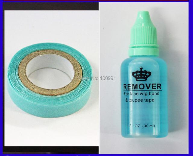 1 бутылка 30 мл клей для удаления для Кожи волос ленты/ПУ уток кожи наращивание волос и Голубая лента клей