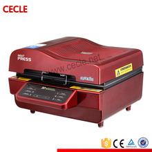 high grade logo fabric heat printing machine