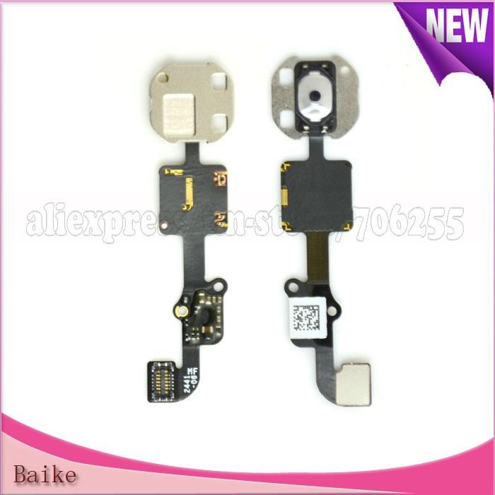 Original Home Button Menu Keypad Flex Cable for Apple Iphone 6 Plus 100% Guarantee(China (Mainland))