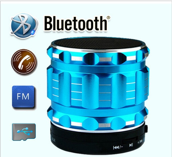 New 2015 Portable Mini Handsfree Bluetooth Speakers Wireless Speaker With FM Radio Support TF/SD Card Free Shipping(China (Mainland))
