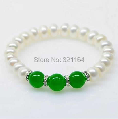 Free shipping!!!Freshwater Cultured Pearl Bracelet,Female Jewelry, Freshwater Pearl<br><br>Aliexpress