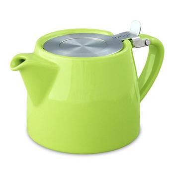 2013 Innovative Products Kupper forlife ceramic tea pot stainless steel filter quality tea set