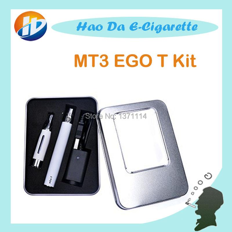 Caja de Regalo kit EGO T cigarrillo Electrónico MT3 mt3 vaporizador batería cigarrillo eléctrico ego mt3 atomizador líquido para cigarrillo electrónico kit(China (Mainland))