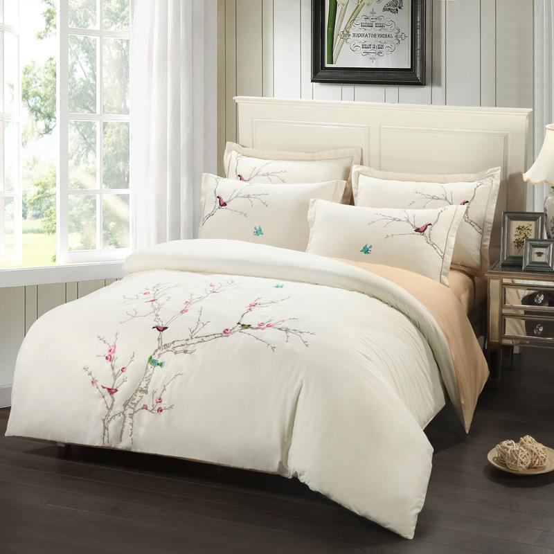 Achetez en gros ensemble de lit d 39 oiseau en ligne des for Laure de flores linge de maison