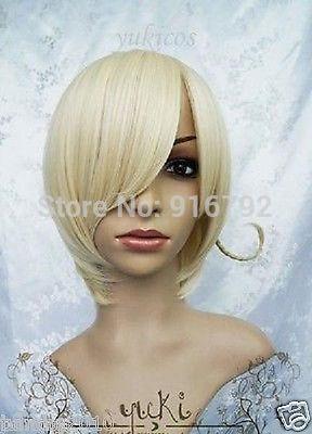 YF&Q Axis Powers Hetalia APH HETALIA NORWAY Short Blonde Wig  -  cridy's store store
