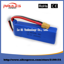 Free shipping 11.1V 2800mah 3S Battery for WLtoys V303 XK X350 Cheerson CX-20 CX20 RC Quadcopter drone Spare Parts wholesale
