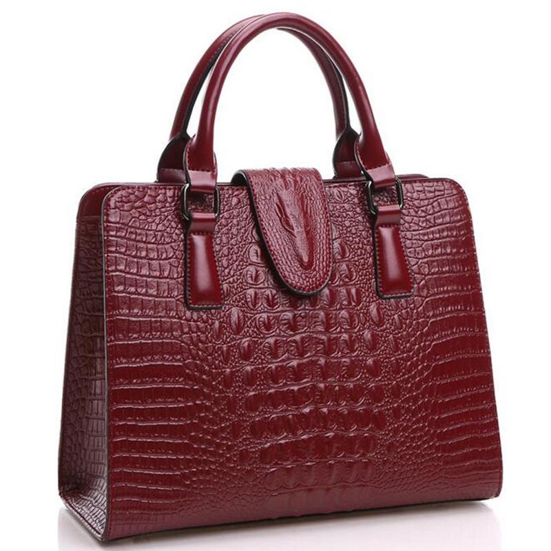 ladies shoulder bag 2016 Crocodile pattern Women messenge bags handbags for women famous brands designer high quality L4-2000<br><br>Aliexpress