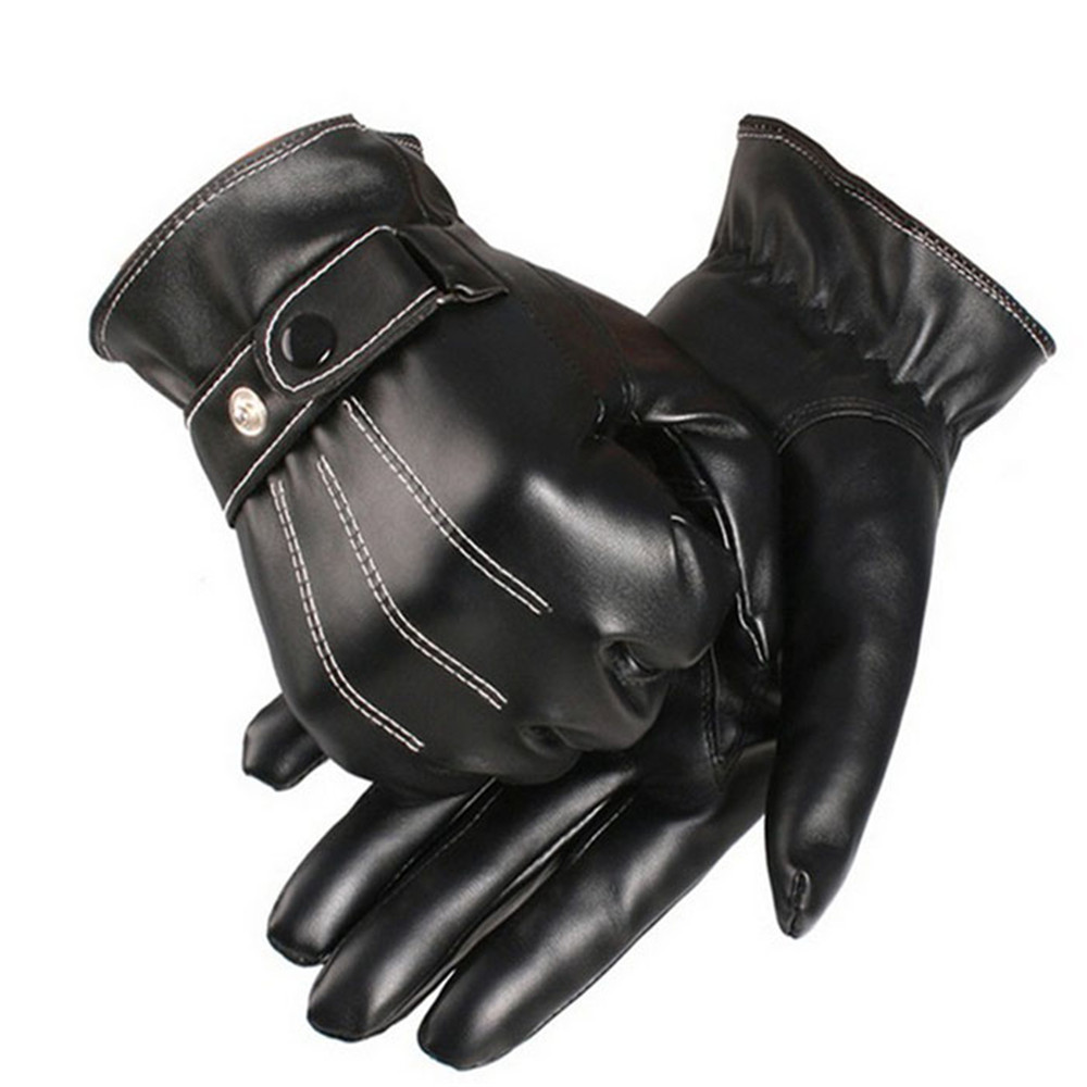 Mens leather gloves for iphone - Men S Leather Glove