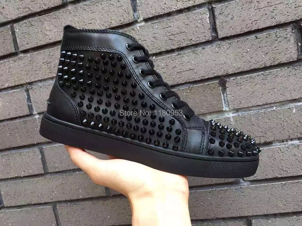 Genuine Leather zapatillas Red Bottom Men shoes Lace Up Casual Shoes low-top Mens Flats Shoes Chaussure Homme zapatos hombre<br><br>Aliexpress