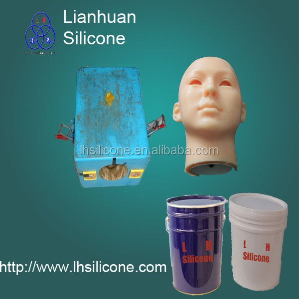 rtv silicon life casting liquid silicone rubber to make mold for artificial vagina raw 228820(China (Mainland))