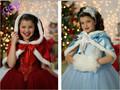 Girls dress Elsa Anna dress for girl Hot sale princess dresses brand girls dress Children Clothing