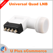 LA4080 Universal Ku Band Twin LNB High Gain Low Noise 0.1db Best Quad HD Digital LNBF hot selling