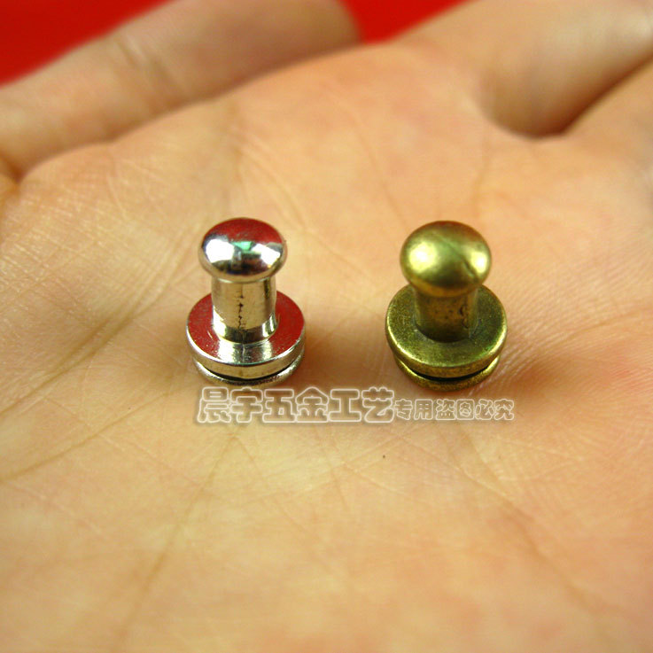 9.5*7.5mm 100pcs bronze classics brief mini handles for paper box small wooden jewelry box knobs drawer pulls furniture fittings(China (Mainland))