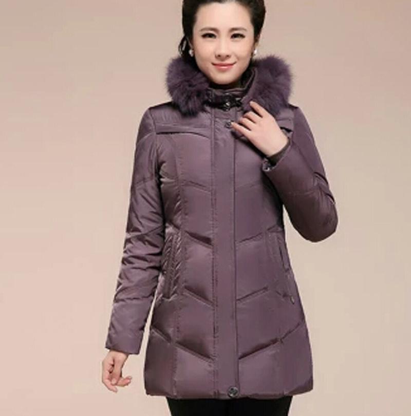 Winter Coat Women Plus Size 5XL 6XL Women Winter Jacket Women Natural Fox Fur Thickening Duck Down Coats Down Parkas N550(China (Mainland))