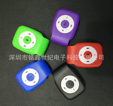 Wholesale Quality Clip Slim Mini MP3 Music Player with TF Card Slot for leisure (no accessories)