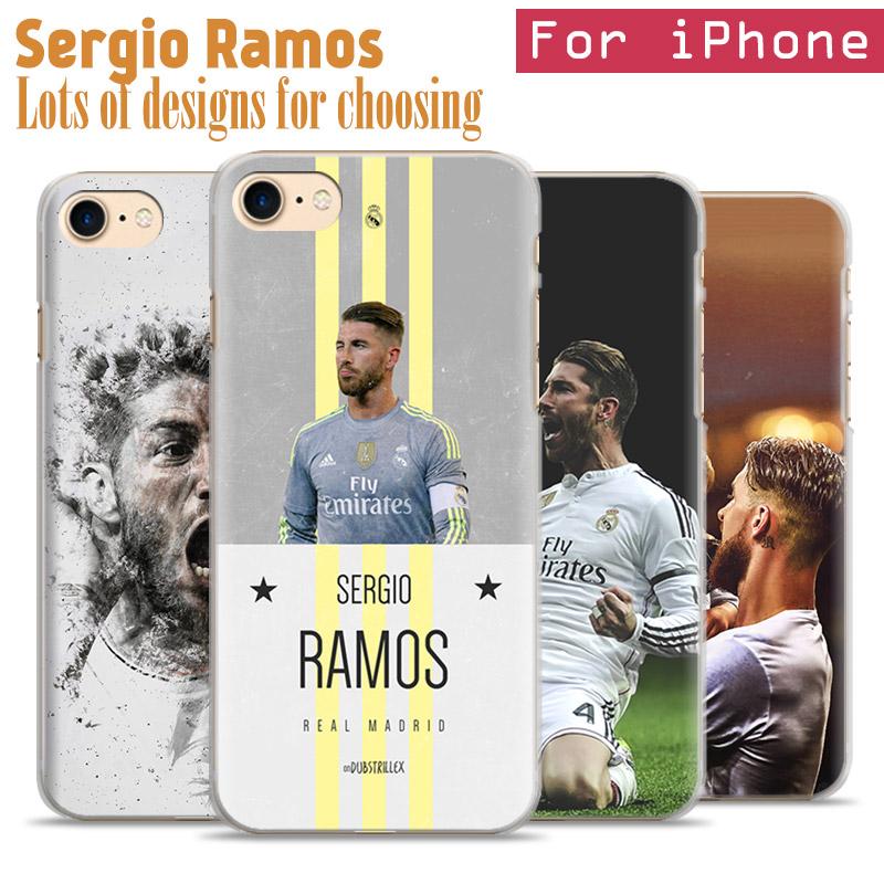 Spanish Football Player Sergio Ramos Garcia Phone Case Cover Shell Bag For Apple iPhone 7PLUS 7 6SPLUS 6S 6PLUS 6 5 5S SE 4 4S(China (Mainland))