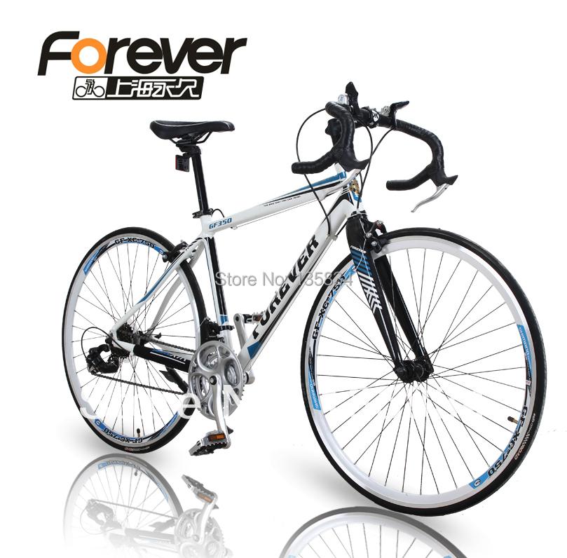 "Forever 700c 2014 Brand New GF350 Bicicleta Road Bike Bicycles 26 "" Aluminum Road Bicycle Mechanical Break Cycling Bike(China (Mainland))"