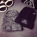2015 new Men and women beanie letters BOWLLER knitted cap fashion warm winter hat free shipping