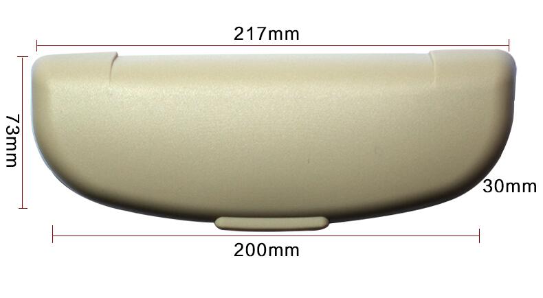 2017 New Arrival Car Sunglasses Case Holder Glasses Cage Storage Box For Mazda 2 3 5 6 CX5 CX7 CX9 Atenza Axela