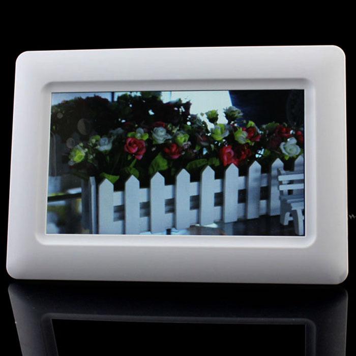 Цифровая фоторамка Others 7 tft LCD u SD MMC MS USB FlowerLi 8 tft lcd digital photo frame with sd mmc ms xd usb host mini usb 800 600px