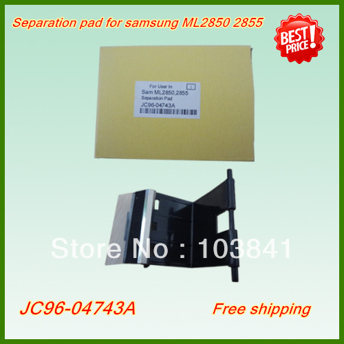 Free shipping wholesale high quality printer spare parts JC96-04743A Separation pad new printer parts for Samsung ML2850 2855<br><br>Aliexpress