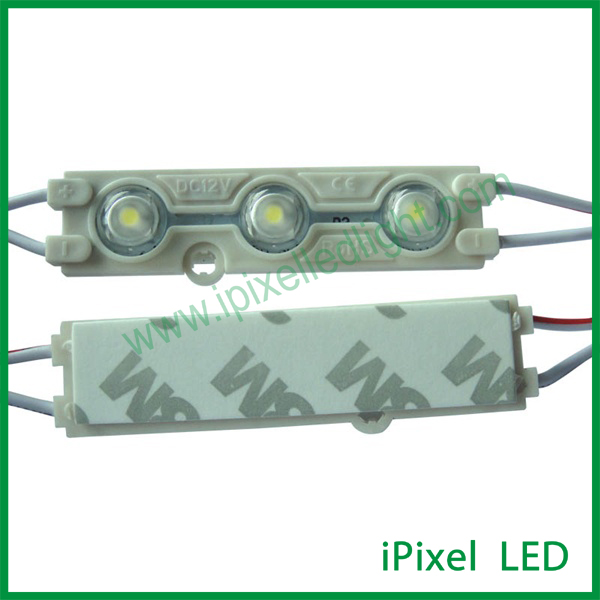 Samsung Injection 12v smd5630 high power LED module with lens size: 66*16*2mm(China (Mainland))
