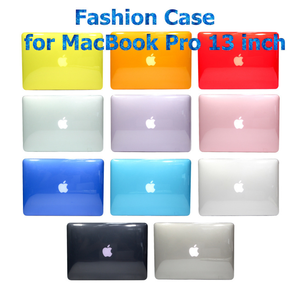 "Colorful Clear Crystal Hard Case Light Weight for Apple MacBook Pro 13.3 inch (A1278) Shell Cover for MacBook Pro 13""(China (Mainland))"