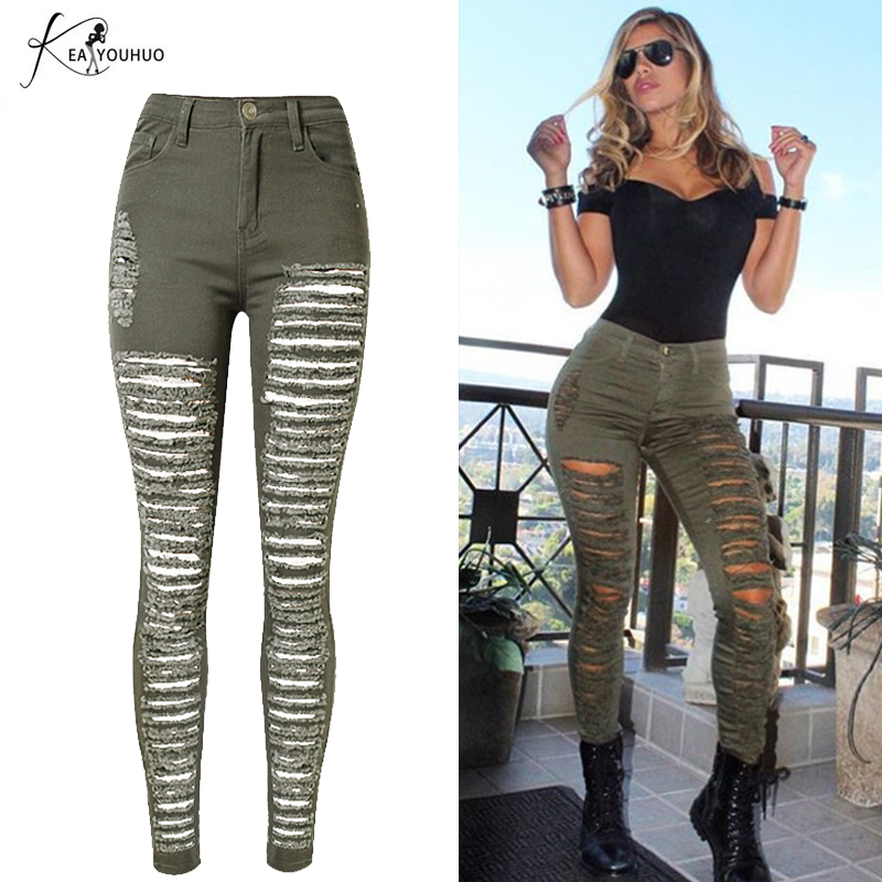 Popular Green Skinny Jeans Lady-Buy Cheap Green Skinny Jeans Lady ...
