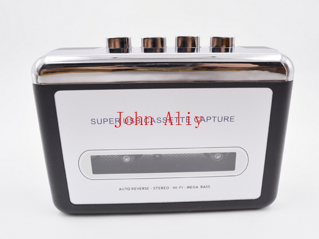 Hot sale Super USB Cassette to MP3 Converter Capture Audio Music Player Tape to PC Computer Laptop(China (Mainland))