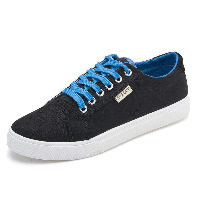 Men Low Top Solid Canvas Shoes Fashion Sport Flat Shoe Male Casual Fabric British Loafers Breathable Driving Footwear Size 39-44<br><br>Aliexpress