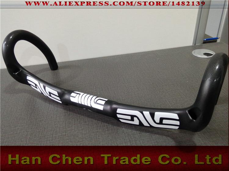 New carbon bicycle Handlebar carbon road handlebar stem top caps 17color bike parts 400 420 440mm