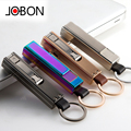 Jobon zhongbang usb charge lighter windproof multifunctional quality ultra thin male personalized cigarette lighter