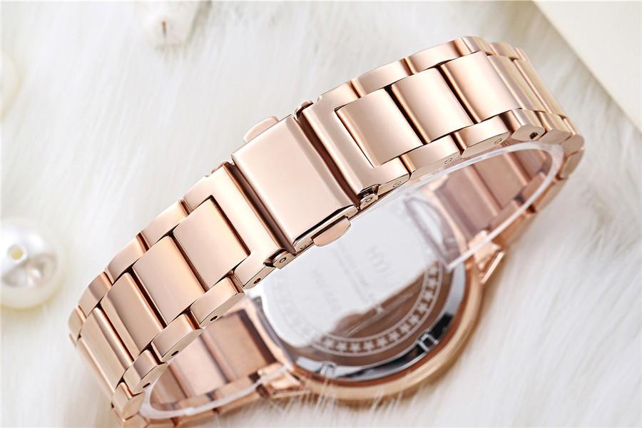Новые моды для женщин часы royalblue полный нержавеющей стали женские часы HYJ старинные часы женщины одеваются часы h550 бесплатная доставка