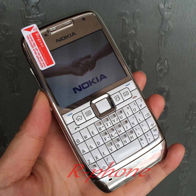 Refurbished Original Nokia E71 Mobile Phone 3G Wifi GPS 5MP Unlocked Smartphone Arabic Russian Keyboard(China (Mainland))