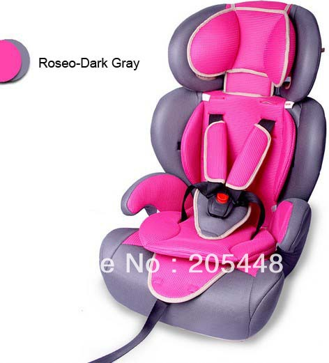 Portable Children/Baby.kids/infant Safety Car Seat/Chair suitable for 9 month to 12 years old 9-36KG Dhl Free Shipping(China (Mainland))