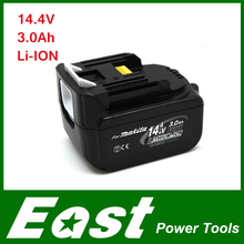 East Rechargeable batteries for Makita 3000mAh 14.4v BL1430 Power Tool Battery(China (Mainland))