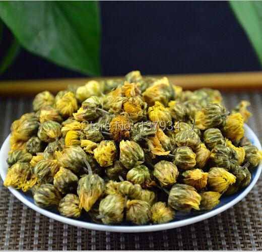 Promotion  100g China Genuine Hangzhou Chrysanthemum Tea Flower Tea Refreshing aromatic Good For Heath Free