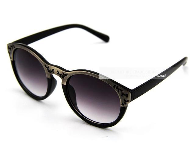 Aevogue ажурный узор лист металлические украшения солнечные очки на открытом воздухе марка солнечные очки женщины солнцезащитные очки CE DT0277