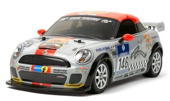 New TAMIYA Electric R/C Car 4WD mini JCW Coupe (M-05 Chassis) 58520 radio control car drop shipping gift