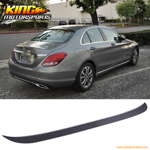 Buy Fit 15-16 Mercedes Benz W205 C Class 4Dr OE Style Roof Spoiler Unpainted Black ABS for $61.74 in AliExpress store