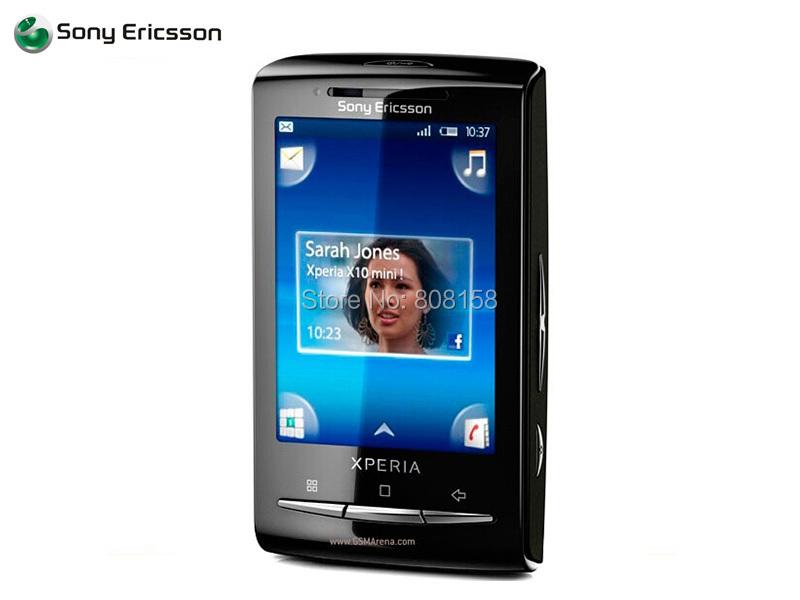 E10 Original Unlocked Sony Ericsson Xperia X10 mini E10i 5MP mobile Phone 3G WIFI BT FM GPS Android free shipping Refurbished(China (Mainland))